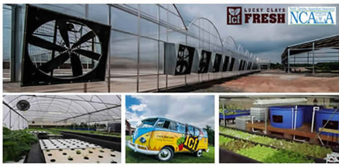 hoop house, tour bus and other sites