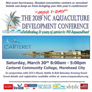 Cover photo for 2019 NC Aquaculture Development Conference Scheduled