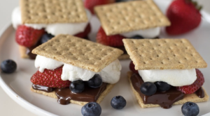 Grilled Berry S'mores